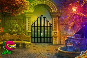 《魔法花园逃脱》游戏画面1