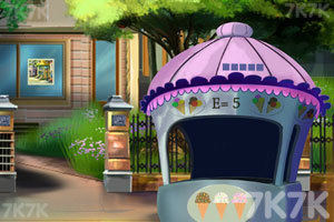 《逃离小镇广场》游戏画面2