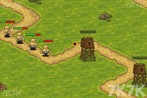 《岛屿防御战》游戏画面2
