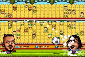 《西班牙足球联赛》游戏画面2