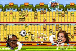 《西班牙足球联赛》游戏画面4