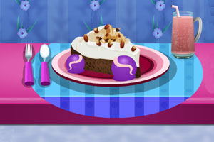 《巧克力榛子蛋糕》游戏画面1