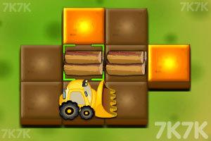 《森林推土机》游戏画面2
