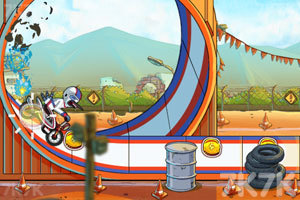 《鸟哥摩托特技》游戏画面4