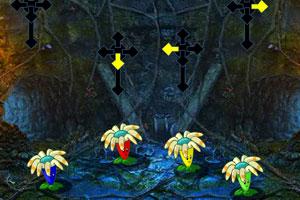《幽暗神秘洞穴逃脱》游戏画面1