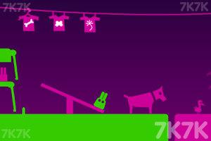 《长耳朵小绿怪H5版》游戏画面3