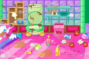 《索菲亚的浴室清洁》游戏画面1