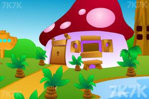 《逃离村庄花园》游戏画面1