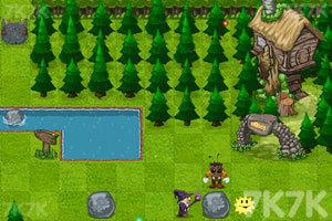 《树精和巫师》游戏画面2
