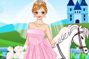 《女孩的童话婚礼》游戏画面2