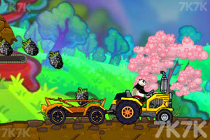 《熊猫运输车》游戏画面2