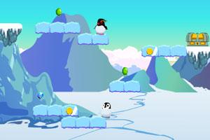 《极地企鹅大冒险》游戏画面1
