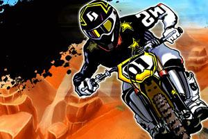 《摩托障碍大赛》游戏画面1