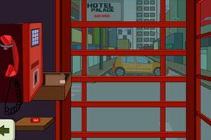 《电话亭逃脱》游戏画面1