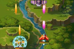 《全民飞机大战三人版》游戏画面2