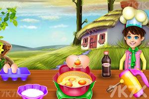 《玫瑰海绵蛋糕》游戏画面2