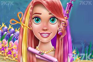 《小美人鱼的发型沙龙》游戏画面1