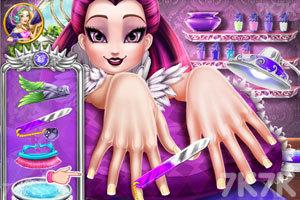 《乌鸦女王指甲水疗》游戏画面3