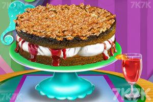 《烹饪夹心蛋糕》游戏画面1
