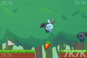 《小兔子的影分身》游戏画面4