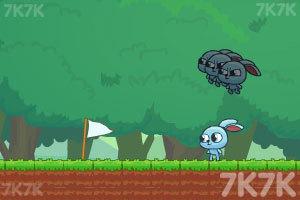 《小兔子的影分身》游戏画面2