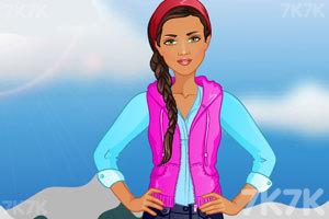 《时尚的运动女孩》游戏画面3