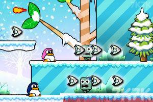 《企鹅吃鱼记》游戏画面3