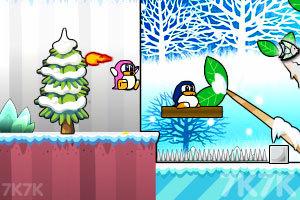 《企鹅吃鱼记》游戏画面2