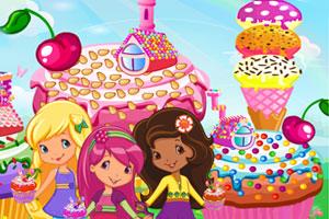 《草莓公主的蛋糕房》游戏画面1