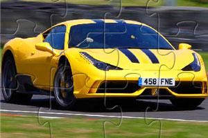 《法拉利赛车拼图》游戏画面1