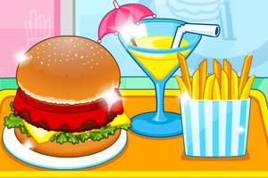 《汉堡的快餐店》游戏画面1