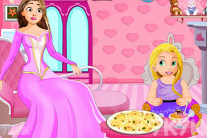 《公主制作冰淇淋披萨》游戏画面2