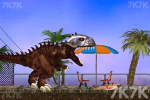 《霸王龙大战食人鲨》游戏画面5