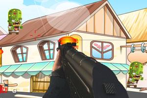 《枪杀小丧尸》游戏画面1