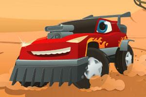 《疯狂轿车逃亡3》游戏画面1
