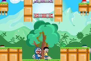 《哆啦A梦的摇钱树7无敌版》游戏画面1