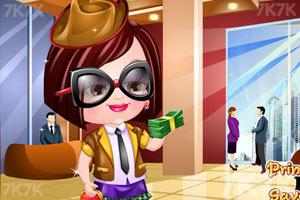 《可爱宝贝的商业装》游戏画面2