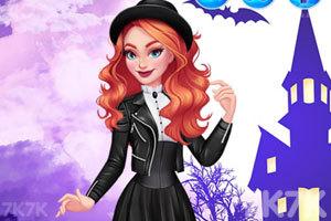 《丽娜的不同造型》游戏画面1