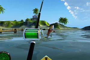 《去大海钓鱼》游戏画面1