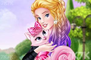 《公主和猫的生活》游戏画面1