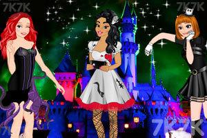 《公主的幽灵装扮》游戏画面1