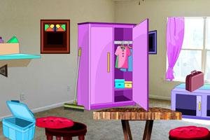 《逃出凌乱的客厅》游戏画面1
