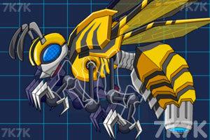 《组装机械黄蜂》游戏画面1