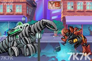 《狂暴重装机甲2无敌版》游戏画面1