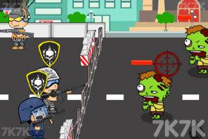 《丧尸城防守》游戏画面1
