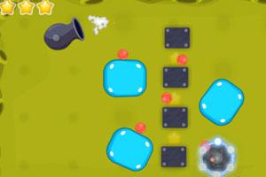 《小球进黑洞》游戏画面1