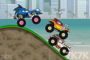 《翻滚吧大脚车》游戏画面1