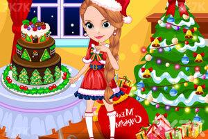 《苏菲亚的圣诞派对》游戏画面1