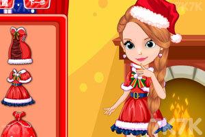 《苏菲亚的圣诞派对》游戏画面2