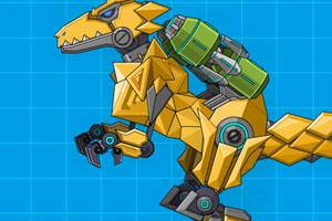 组装机械巨齿龙